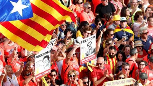 Manifestación del 11-S de este año en Barcelona