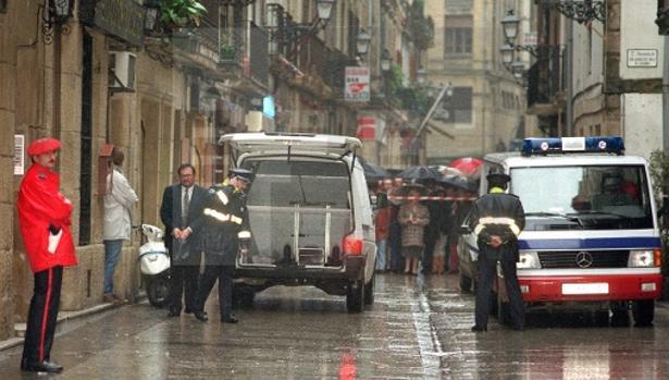 Gregorio Ordóñez fue asesinado en la parte vieja de San Sebastián en 1995