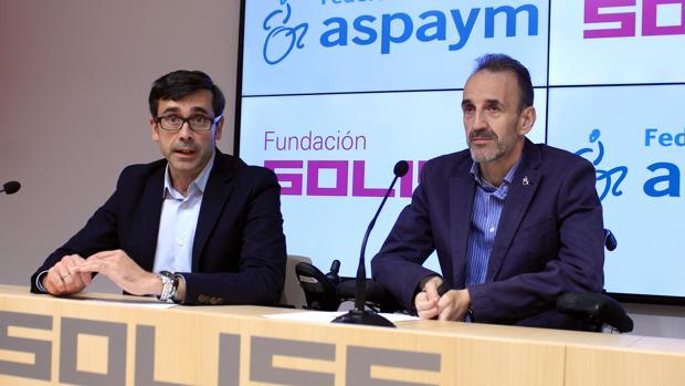 Eduardo Sánchez Butragueño y José Ramón del Pino