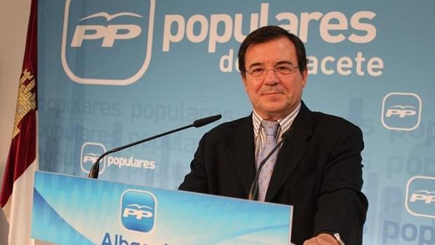 El diputado del PP de Albacete Francisco Molinero