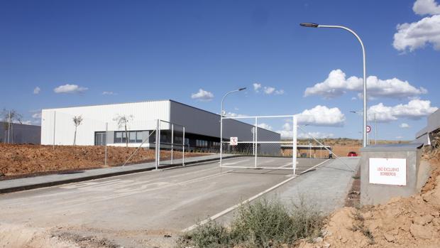 Una de las instalaciones de lo que iba a ser el ATC en Villar de Cañas (Cuenca)