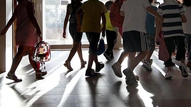 Niños en el colegio, en una imagen de archivo