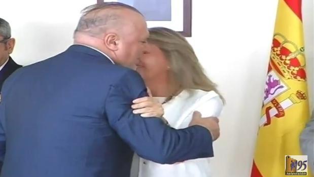 El excomisario Villarejo tras recibir una medalla del Ayuntamiento de Marbella