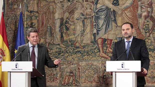 Emiliano García-Page y José Luis Ábalos