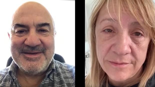 Blanca Portillo y Juan José Bonilla piden un donante para Dani
