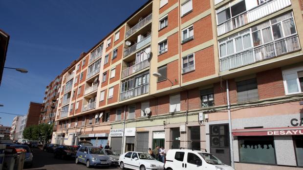 El barrio de Las Viudas en Valladolid, desde donde se efecturaron los disparos