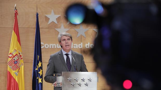 El presidente regional, Ángel Garrido