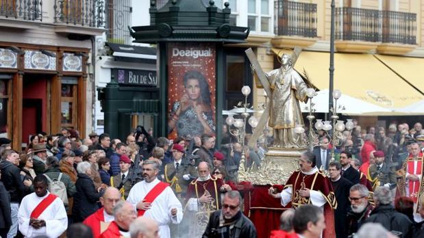 Procesión de San Vicente Mártir en Valencia