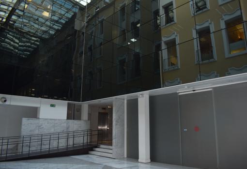 Juicio Humedal Predecesor  El Palacio de Miraflores, el señorial edificio de Madrid que ahora ocupa  Nike