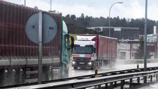 El 95 por ciento de los camiones se vieron afectados por el pacto