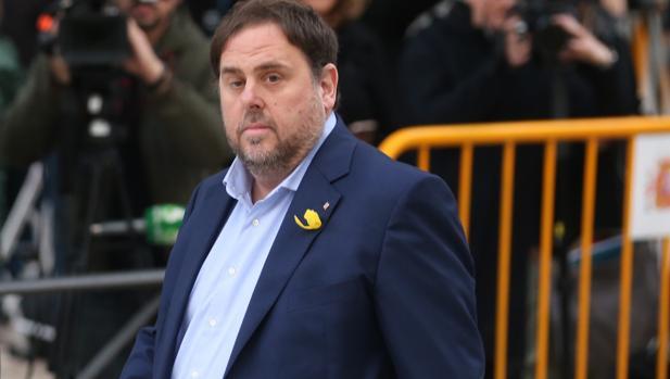 Junqueras declaró ante la Audiencia Nacional en noviembre de 2017 y después fue enviado a prisión