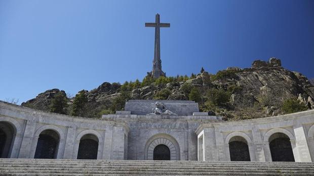 Panorámica de la basílica del Valle de los Caídos