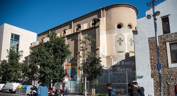 La capilla de la Misericordia, al lado del Macba
