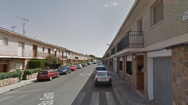 Calle de Santa Gema, donde se produjo la agresión