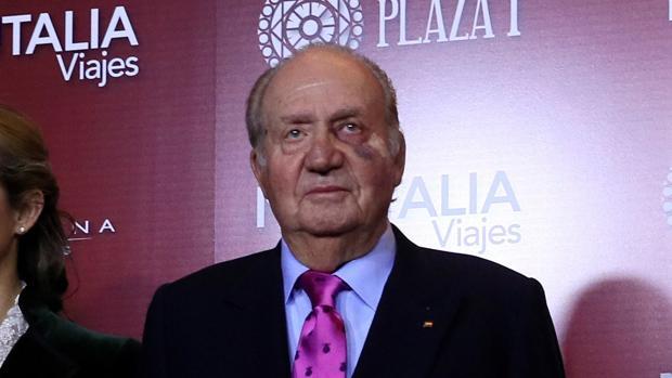 Don Juan Carlos, este viernes en la gala de San Isidro