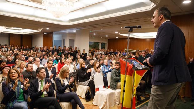 El secretario general de VOX, Javier Ortega Smith, durante un acto en Zamora, en una imagen de archivo