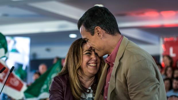 Pedro Sánchez, y Susana Díaz participan en un acto público en Jaén