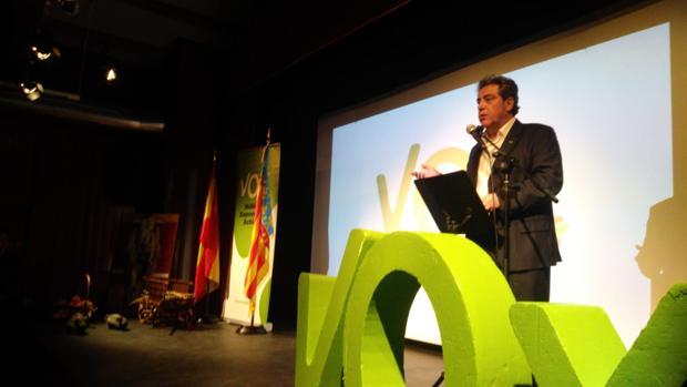 José María Llanos, candidato a la presidencia de la Comunidad Valenciana