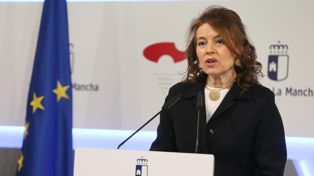 La consejera de Bienestar Social de Castilla-La Mancha, Aurelia Sánchez
