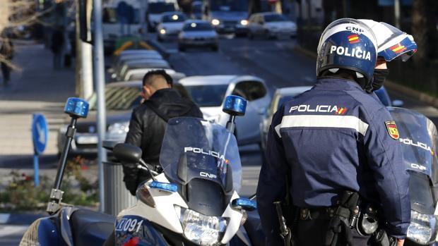 Policía Nacional en Alicante