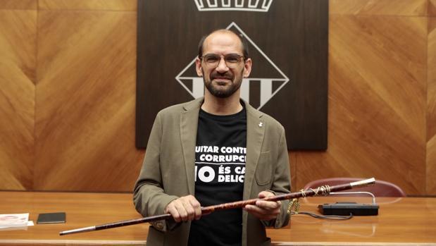 Maties Serracant, alcalde de Sabadell