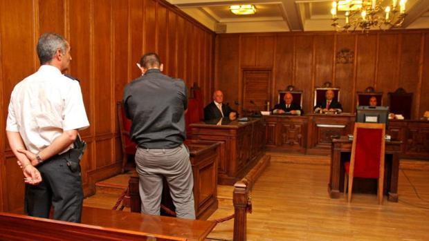 Sesión de un juicio celebrado en Elche