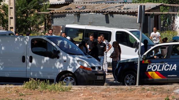 Despliegue policial tras el tiroteo en Ciudad Real