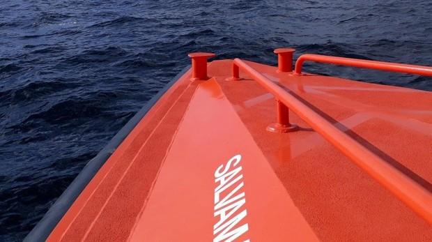 Fotografía de archivo de Salvamento Marítimo