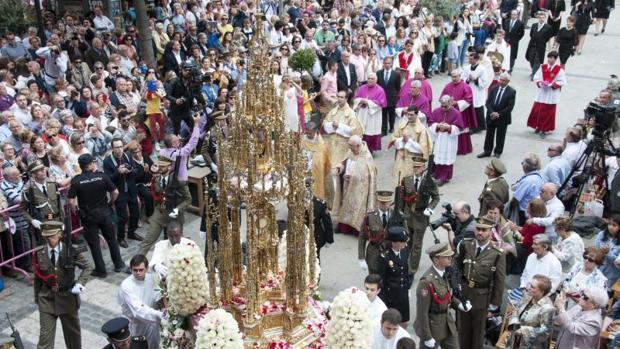 d1e628a25 Toledo Ciudad El Corpus Christi en Toledo es una fiesta declarada de  Interés Turístico Internacional