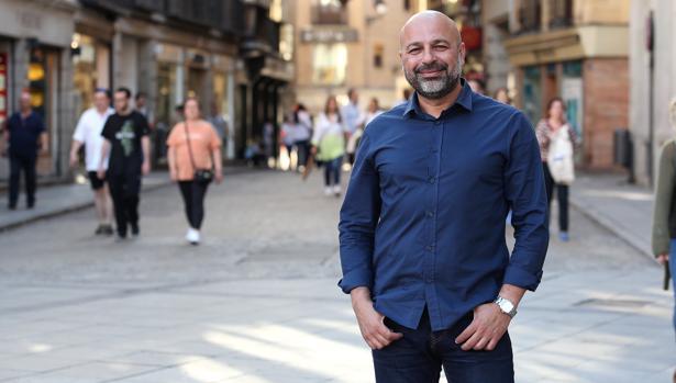 José García Molina, en la plaza de Zocodover de Toledo esta semana