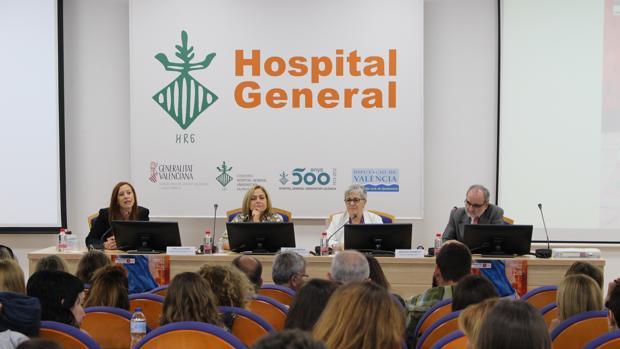 XIII Jornada Autonómica Comunidad Valenciana de la sociedad científica SOCIDROGALCOHOL en el Hospital de General de Valencia