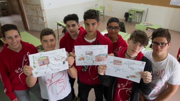 Los alumnos zamoranos seleccionados en este certamen por sus ideas emprendedoras e imaginativas