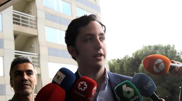 El «pequeño Nicolás» a su llegada a la Audiencia Provincial de Madrid