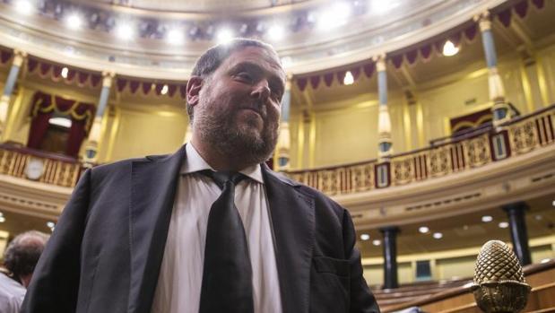 Orio Junqueras en el Congreso de los Diputados