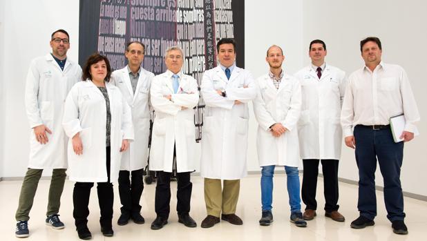 Equipo de expertos que ha llevado a cabo el estudio y la metodología en este tipo de dolencias
