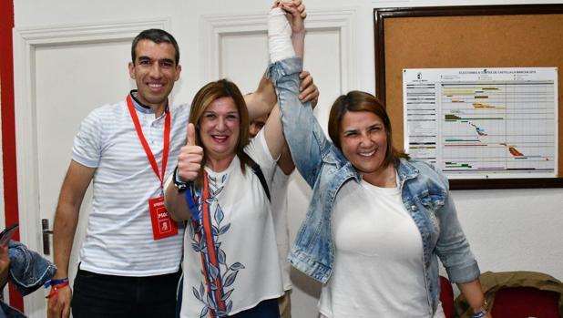Agustina García celebra su victoria