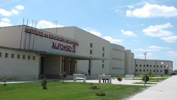 Instituto Alfonso IX, en Zamora