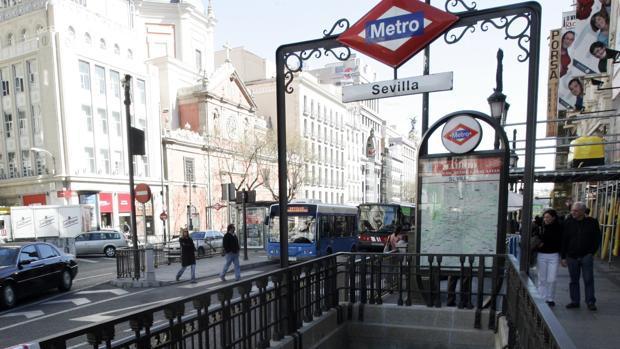 Estación de Metro de Sevilla, Madrid