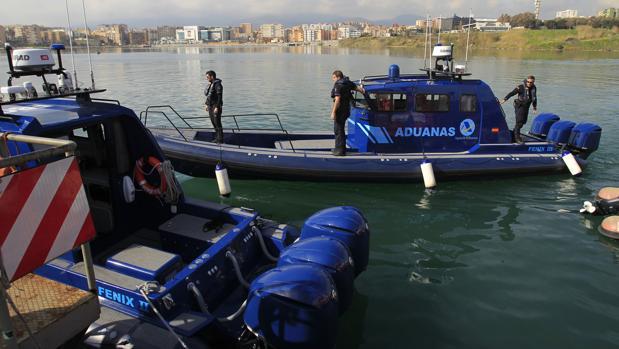 Embarcación de la Agencia Tributaria en una imagen de archivo