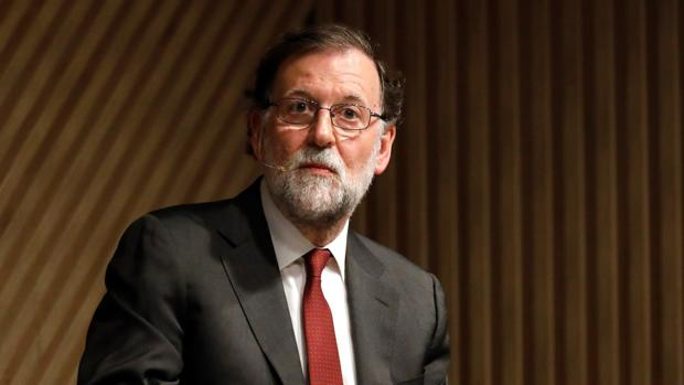 Mariano Rajoy en u acto público reciente