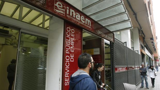 Oficina del Inaem en Zaragoza capital