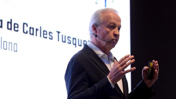 Carles Tusquets, uno de los candidatos que cuestiona el resultado de los comicios