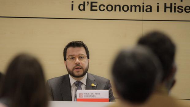 Pere Aragonès, consejero de economía