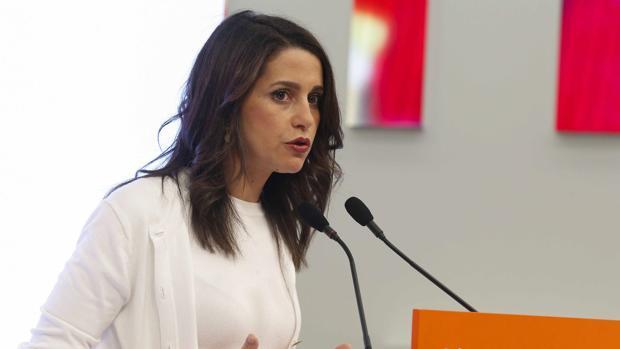 La portavoz de la Ejecutiva de Ciudadanos, Inés Arrimadas