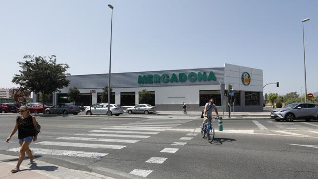 Imagen de un supermercado de Mercadona en Córdoba