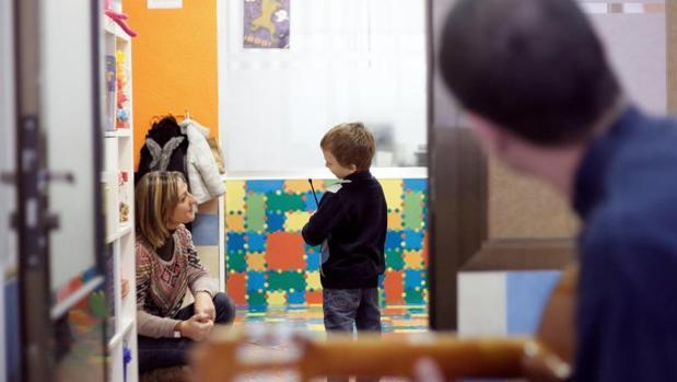 Un centro de niños con autismo