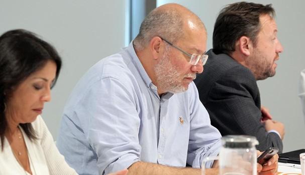 El candidato de Ciudadanos a presidir la Junta de Castilla y León, Franciso Igea
