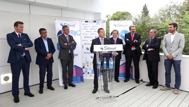 Page asiste al 25 aniversario del Hospital San José en Toledo de la mutua Solimat,