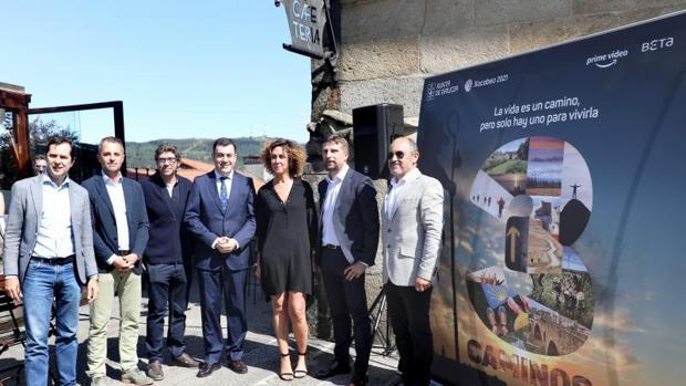 La mañana del martes se presentó en Santiago de Compostela la nueva serie de ficción «3Caminos»
