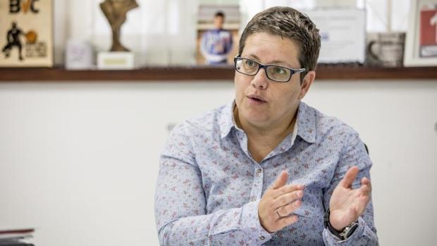 La diputada de Igualdad de la Corporación provincial de Valencia, Isabel García